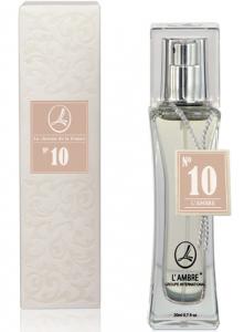 Духи L'AMBRE № 10 цветочно-древесные