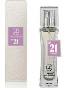Духи L'AMBRE № 21 цветочно-пудровые