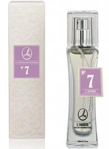 Духи L'AMBRE № 7 Цветочно-пудровые