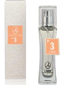 Духи L'AMBRE №3 цветочно-фруктовые