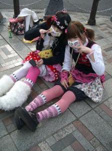 Влияние японских девушек подростков на моду 1