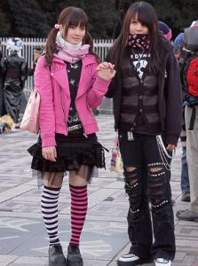 Влияние японских девушек подростков на моду