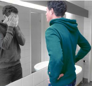 Я некрасивый.Даже зеркало боиться меня.Что делать?