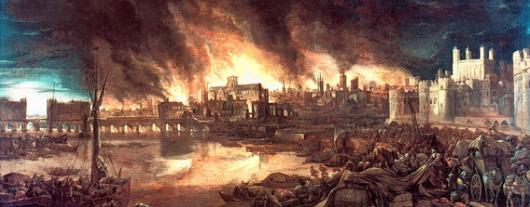 Биография Роберта Гука.Пожар в Лондоне