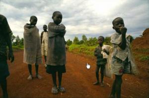 История терроризма.Дети уходят из домов,чтобы их не украли повстанцы