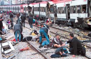История терроризма.Мадрид(Испания)пострадал от терроризма