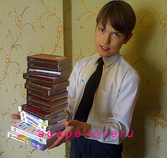Лепщик Илья лепит с 4 лет