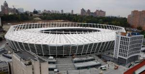 Чемпионат по футболу.Олимпийский стадион в Киеве готов к чемпионату по футболу 2012
