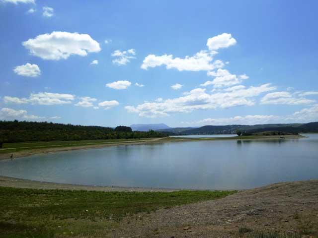 Красивый пейзаж водохранилища.Правда красиво?