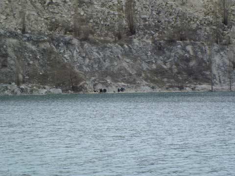 На озере рыбаки ловят рыбу. Хороший отдых для рыбаков