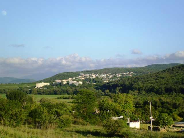 Партизаны видны с поселка Малиновка
