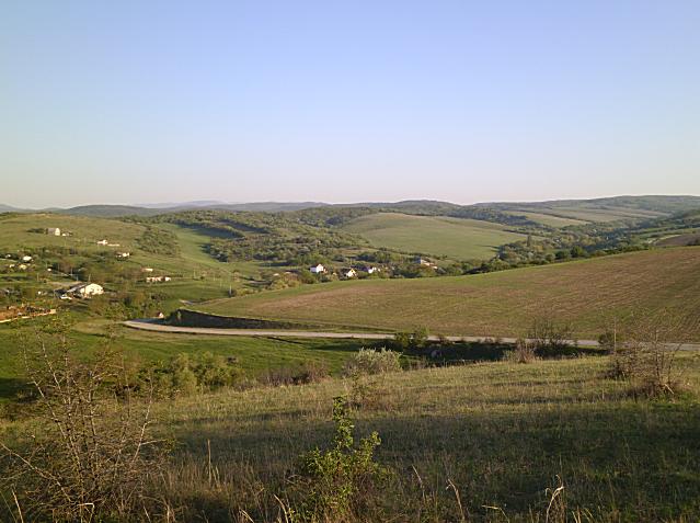 Село дальше,которое находится за маленьким селом