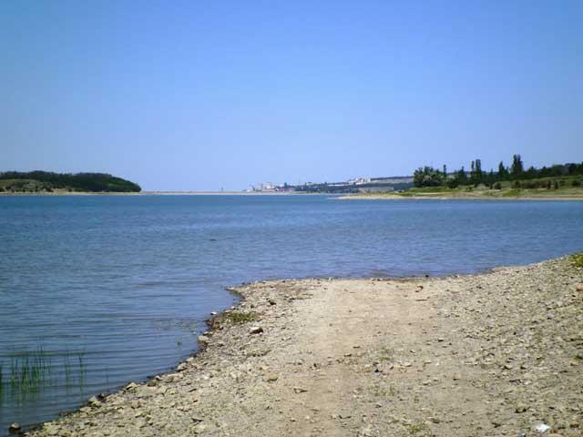 Симферопольское водохранилище.Красивый пейзаж