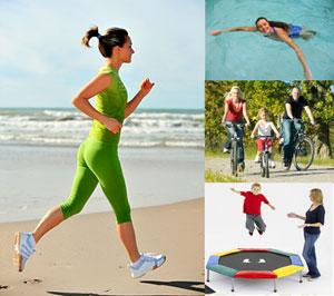 Двигаться. Разные виды спорта помогают двигаться