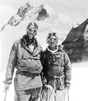 Польза-воды-для-организма.-Восхождение-на-Эверест-в-1953-г. Успешное, благодаря выпитой воде