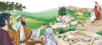 Рассказ о любви Иакова и Рахиль